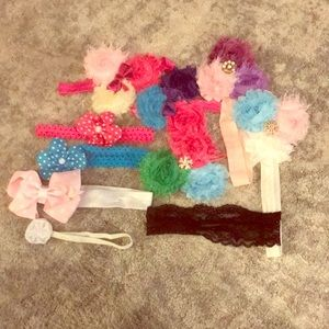 10 headbands random selection